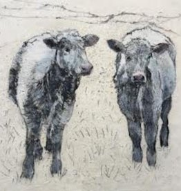 Annabel Langrish Cows Framed Print