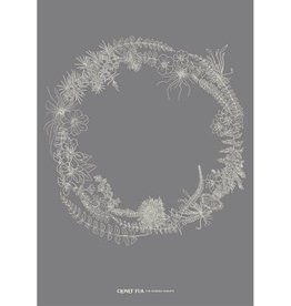 Clover Rua The Burren Wreath Print
