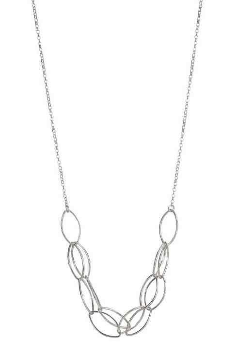 Cé Silver Necklace Lynsey De Burca