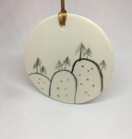 Disc Trees Christmas Decoration