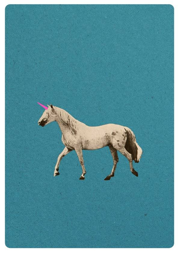 Unicorn A4 print