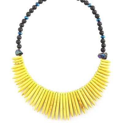 Morgan Yellow Necklace