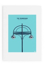 The Promenade Salthill A4 Print Unframed