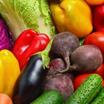 Groente en fruit van het seizoen