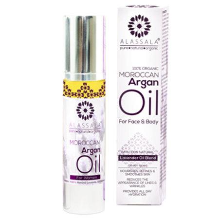 Alassala Argan olie Lavendel 50ml