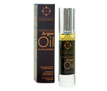 Alassala Marokkansk Argan olie Økologisk Ansigt og krop 50ml