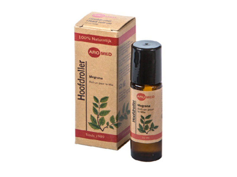 Aromed Migrana hovedpine rulle - 10ml
