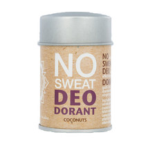 no sweat - Deopuder - Coconuts - 60g