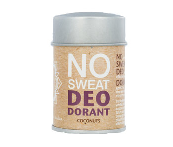 The Ohm Collection no sweat - Deopuder - Coconuts - 60g