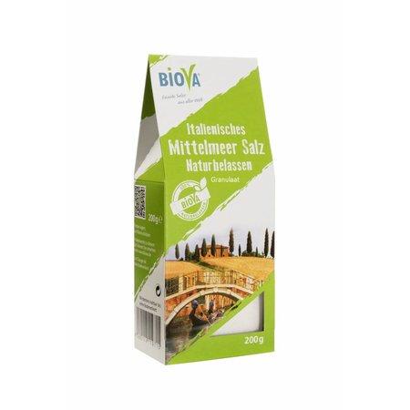 Biova Italiaans Zeezout Granulaat 200 gr