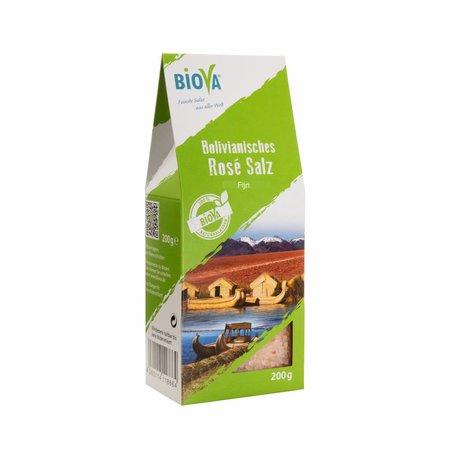 Biova bolivianske pink salt fint - 200g