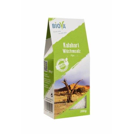 Biova kalahari woestijn zout fijn - 200g