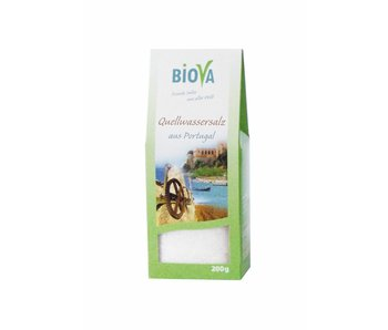 Biova bronwater zout uit portugal - 200g