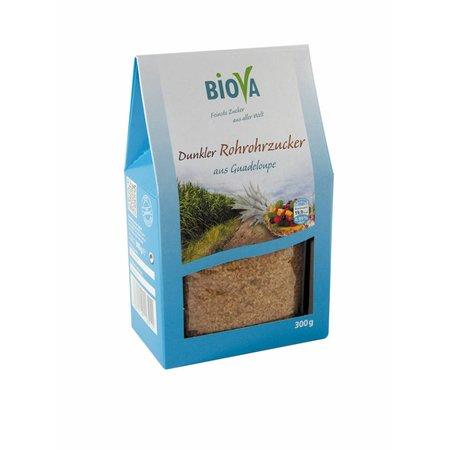 Biova Dunkler Rohrrohzucker aus Guadeloupe - 300g