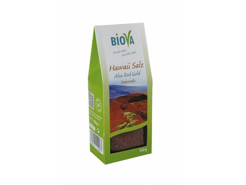 Biova Rotes Hawaii Salz - feinkörnig - 150 g