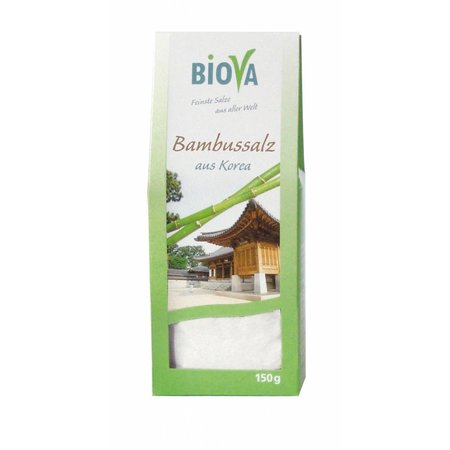 Biova Bambussalz - 150g