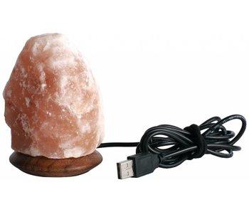 Nutrikraft mini usb zoutlamp met kleurwissel