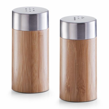 Zeller salt og peber sæt bambus - todelt