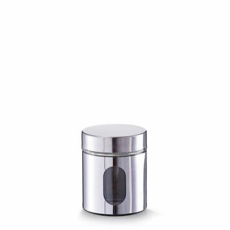 Zeller opbevaringsbeholder chrome små - 500ml