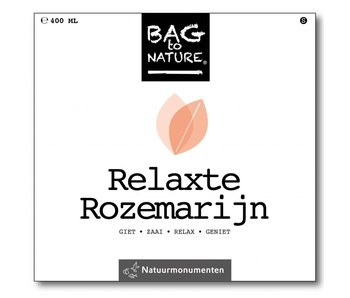Bag-to-Nature Anbauset - Relaxter Rosmarin