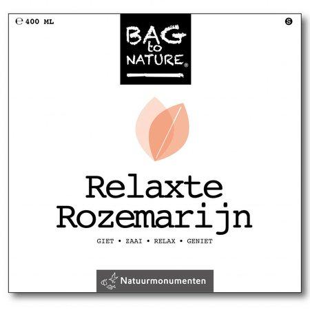 Bag-to-Nature Relaxte rozemarijn kweken zakje