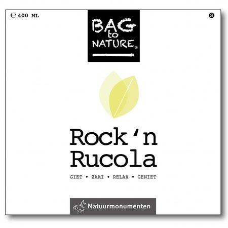 Bag-to-Nature selv vokse arugula - Rock n arugula