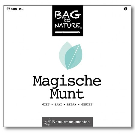 Bag-to-Nature Anbauset - magische Minze