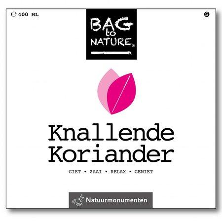 Bag-to-Nature Knallende Koriander kweken