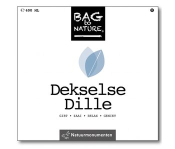 Bag-to-Nature self dyrkning dild - Dill stiplet
