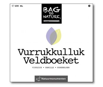 Bag-to-Nature Anbauset - farbenfrohe Feldblumen