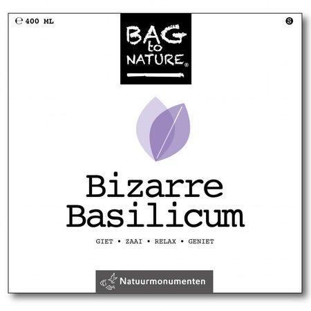 Bag-to-Nature Anbauset - bizarrer Basilikum