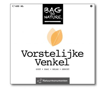 Bag-to-Nature selv vokse fennikel - fennikel regal