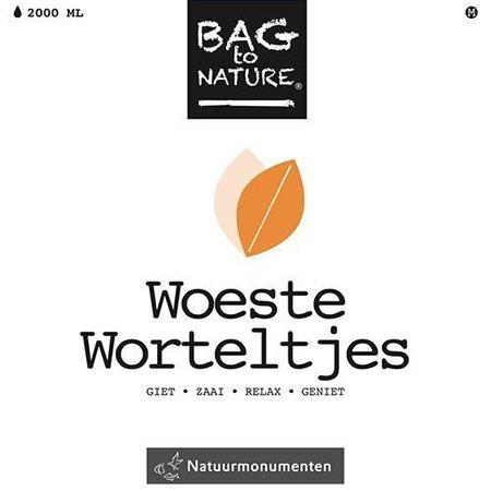 Bag-to-Nature self vokse rødder - vilde gulerødder