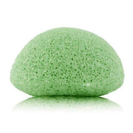 Nutrikraft Konjac svamp grøn te grøn - halvkugle