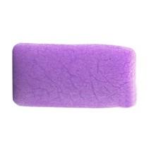 Konjac spons lavendel paars - rechthoek