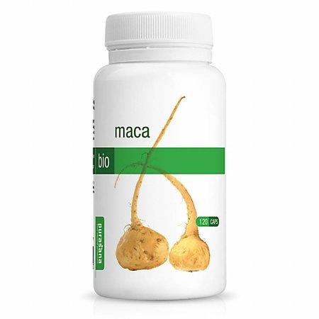 Purasana maca wortel bio capsules - 120vcaps