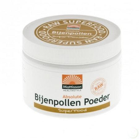 Mattisson absolut bi pollen pulver rå - 125 g