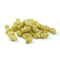 Moerbeibessen wit gedroogd bio - 100 gram