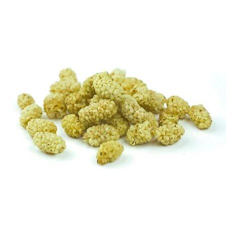 Nutrikraft tørrede hvide morbær bio - 125 g