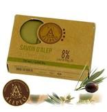 Alepeo vormzeep met groene thee - 100g