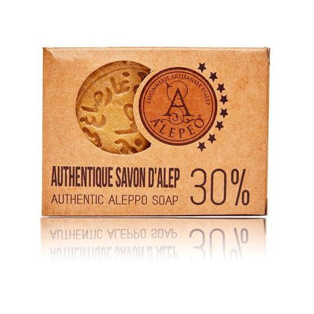 Alepeo sæbe blok 30% laurbærolie - 200g