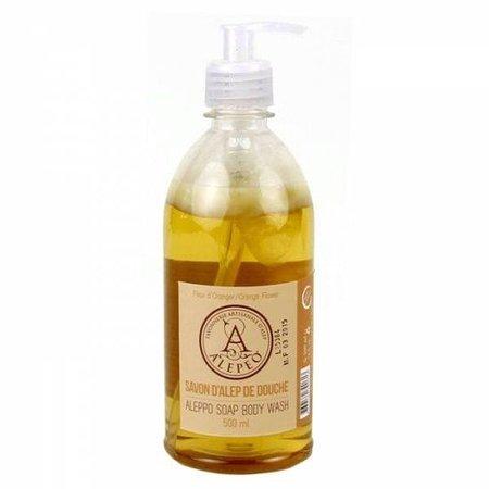 Alepeo vloeibare zeep met sinaasappel - 500ml