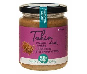 Terrasana tahini sesam pasta mørk salt fri - 250g