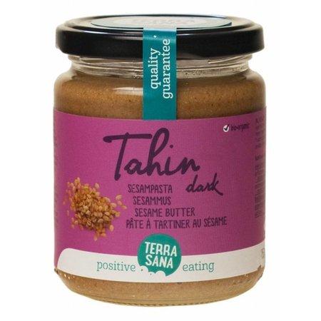 Terrasana dunkle Tahini-Sesampaste - salzfrei - 250g
