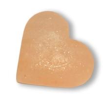 Natuurlijke peeling zoutsteen hartvorm 200-300 gram