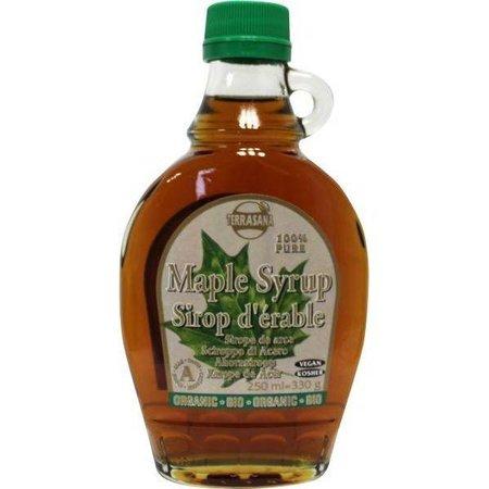 Terrasana Økologisk ahornsirup ahornsirup klasse A glas karaffel - 500ml