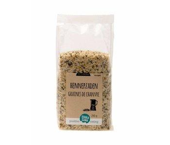 Terrasana skrællet rå fødevarer økologisk hampefrø - 250g