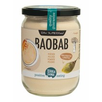 bio baobab poeder in glas 190g