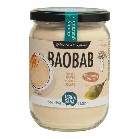Terrasana Økologisk Baobab pulver i 190g glas