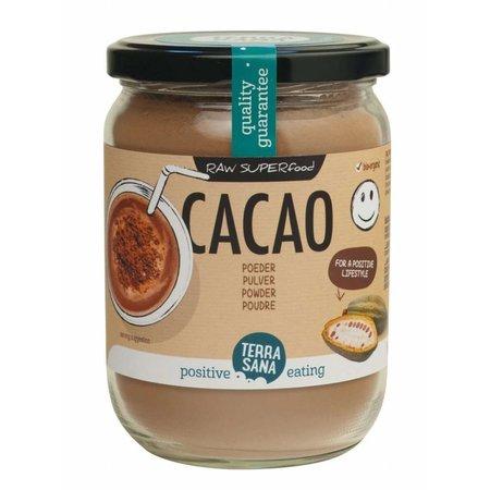Terrasana Organisk kakao antioxidant pulver i glas - 160g